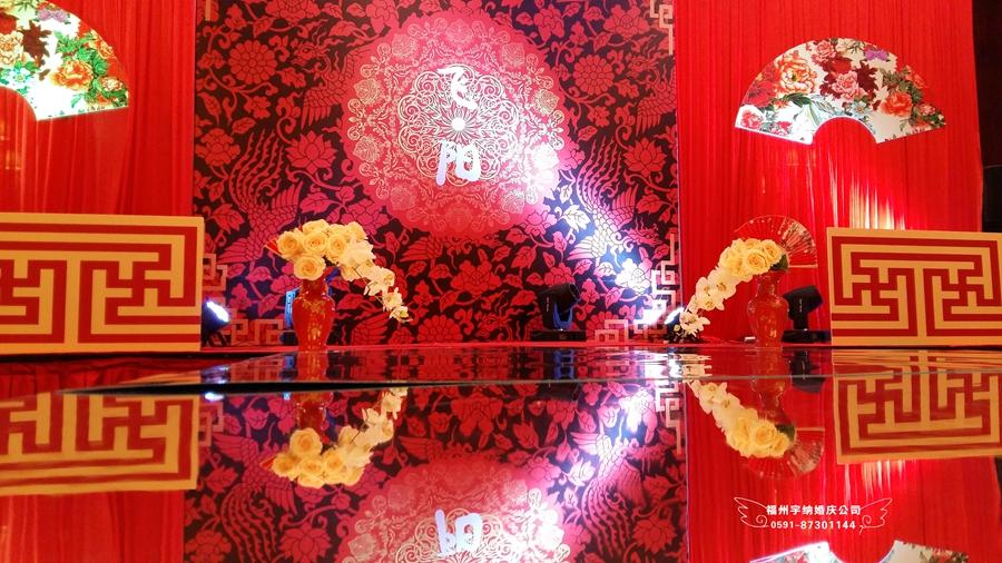 中国风婚礼led屏素材